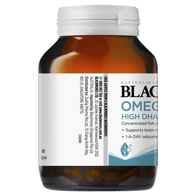 Viên uống bổ não 60v - Blackmores Omega Brain Health 60 Capsules