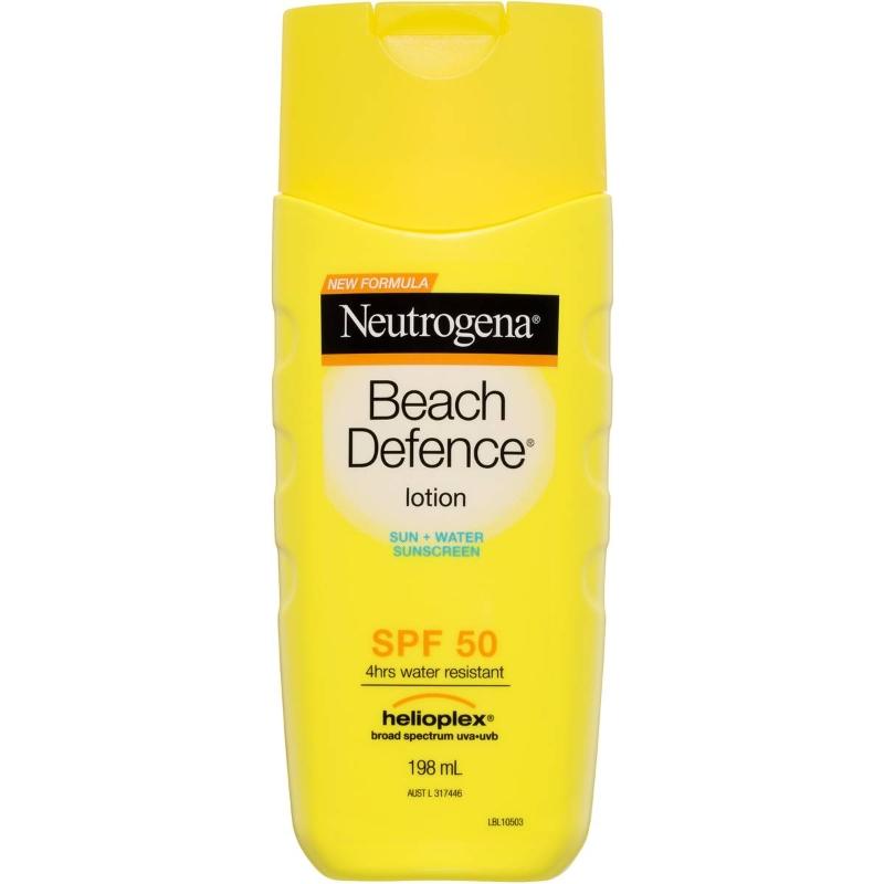 Kem chống nắng Neutrogena Beach Defense Water + Sun Barrier Lotion Spf 50 198ml