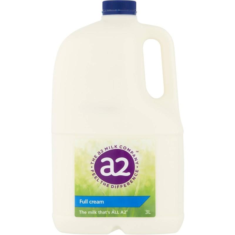 Sữa A2 nguyên kem 3l