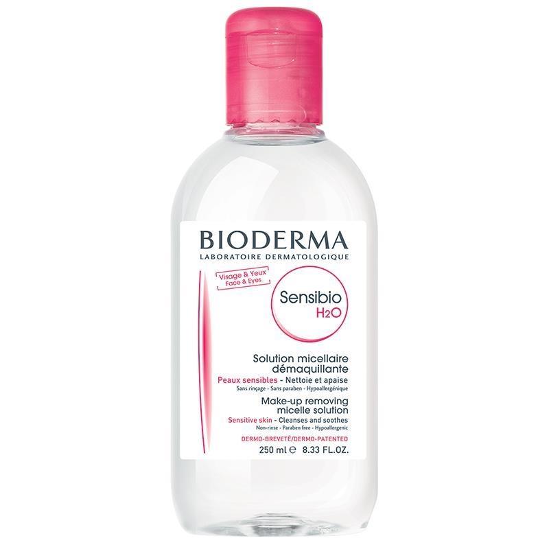 Nước tẩy trang dành cho da nhạy cảm - Bioderma Sensibio H20 Solution Micellaire 250ml