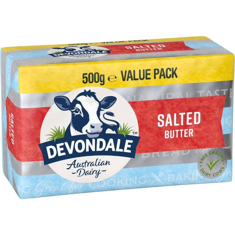Bơ Devondale 500g