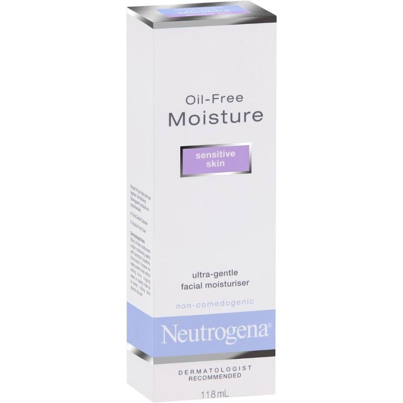 Kem dưỡng ẩm cho da mặt nhạy cảm không chứa dầu Neutrogena 118ml