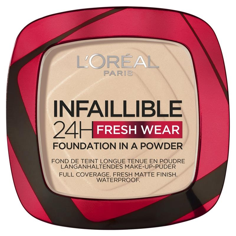 Phấn phủ - L'Oreal Infallible Compact Face Powder 20 Ivory