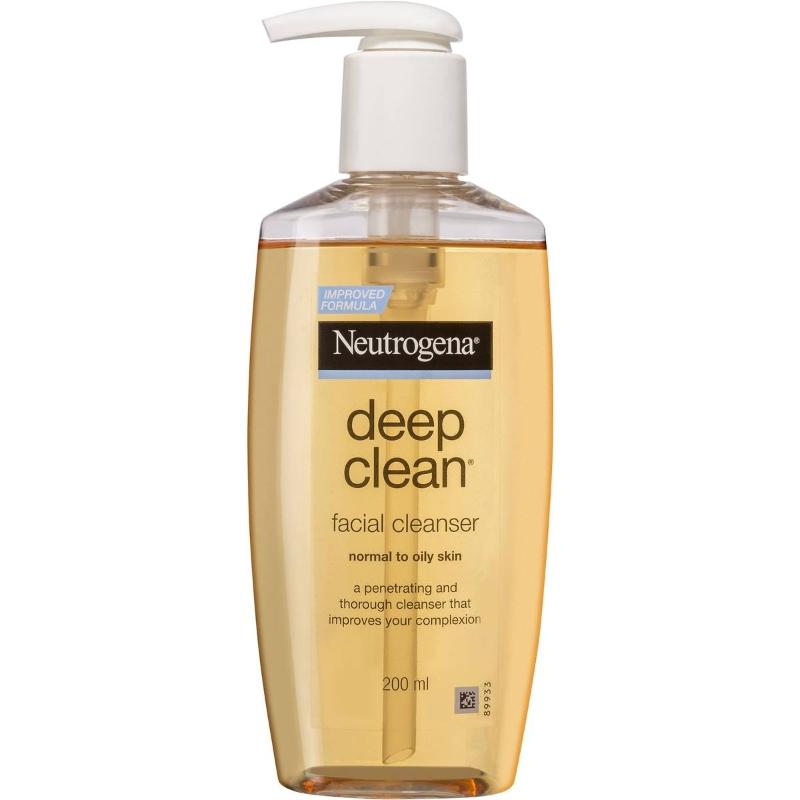 Sữa rửa mặt cho da dầu Neutrogena Deep Clean Normal To Oily Cleanser 200ml