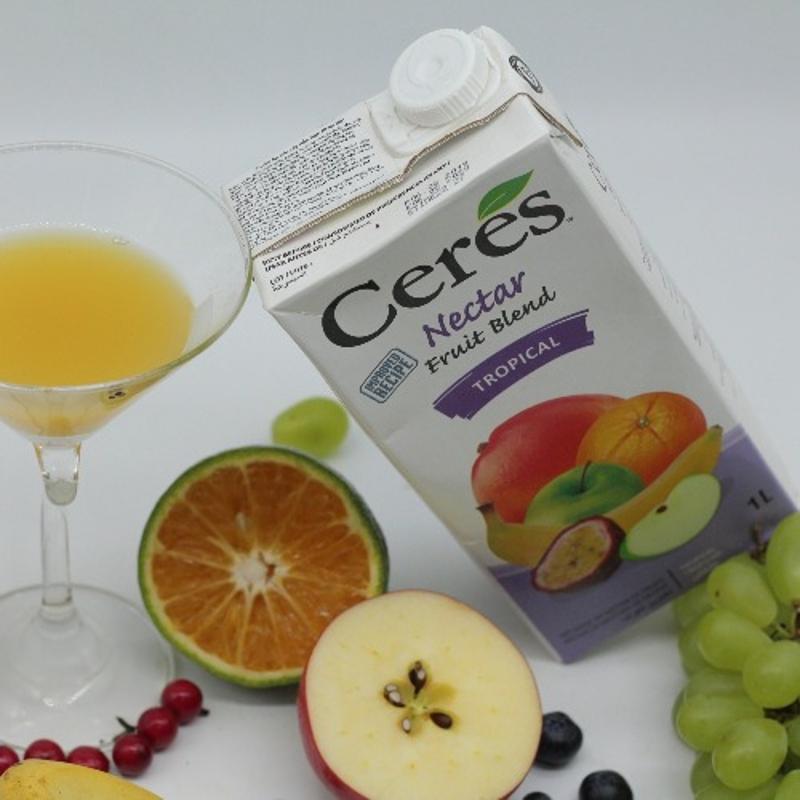 Nước ép hoa quả vị Mix nhiệt đới Hộp 1 L