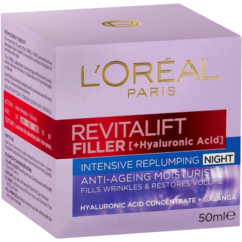 Kem dưỡng ban đêm L'oreal Revitalift Filler 50ml