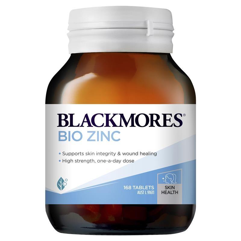 Viên uống bổ sung kẽm 168v - Blackmores Bio Zinc 168 Tablets