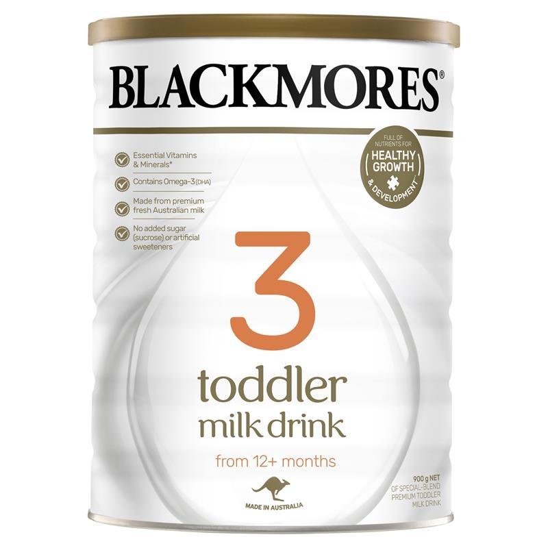 Sữa bột cho bé từ 12 tháng trở lên - Blackmores Toddler Milk Drink 900g