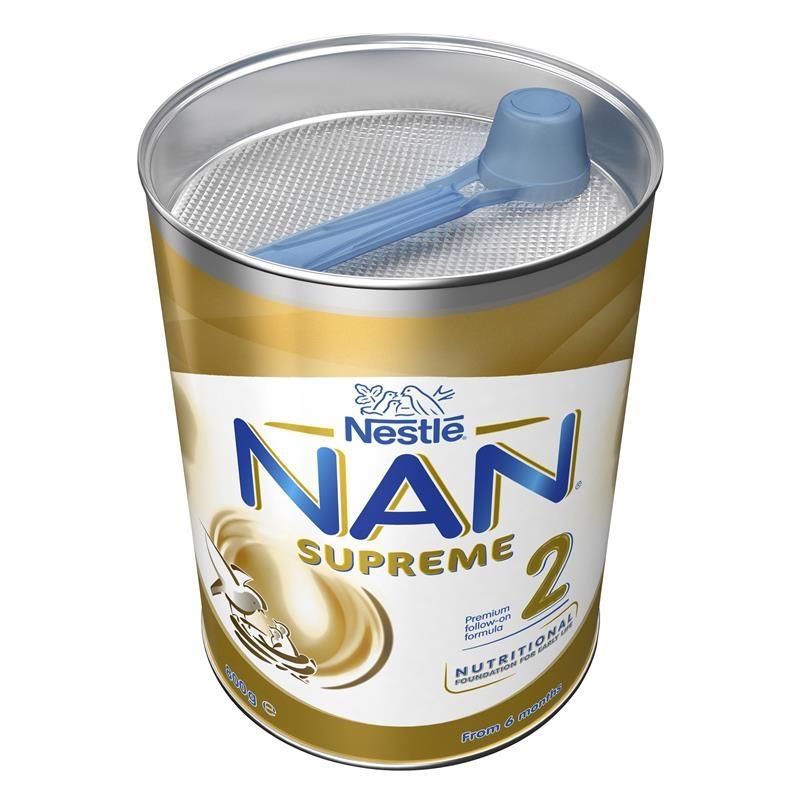 Sữa bột cho bé từ 6 - 12 tháng - NAN Supreme Formula 2 800g