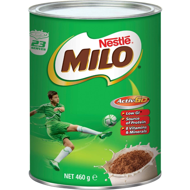 Nestle Milo Malted Drinking Chocolate 460g
