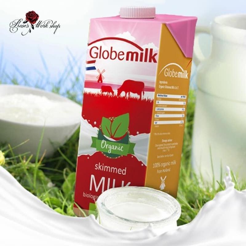Sữa Oganic tách béo Hộp 1L