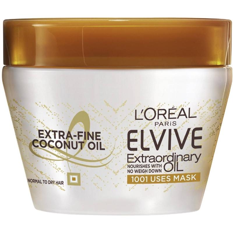Mặt nạ dầu dừa L'oreal Paris Elvive đặc biệt 300ml