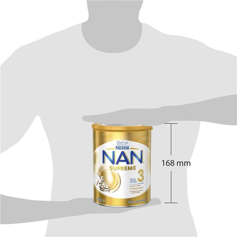 Sữa bột cho bé từ 1 tuổi trở lên - NAN Supreme Formula 3 800g