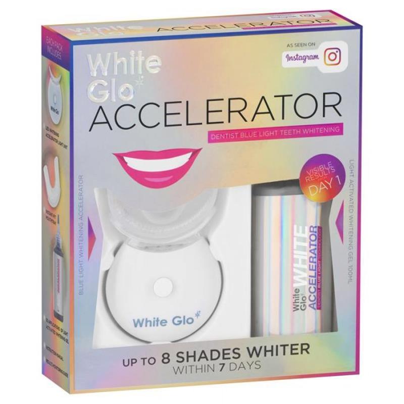 Sản phẩm hỗ trợ làm trắng răng - White Glo White Accelerator Teeth Whitening System