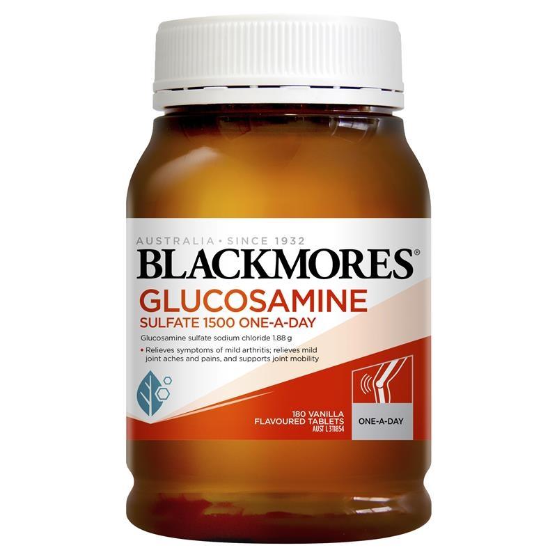Viên uống hỗ trợ xương khớp - Blackmores Glucosamine Sulfate 1500mg One-A-Day 180 Tablets