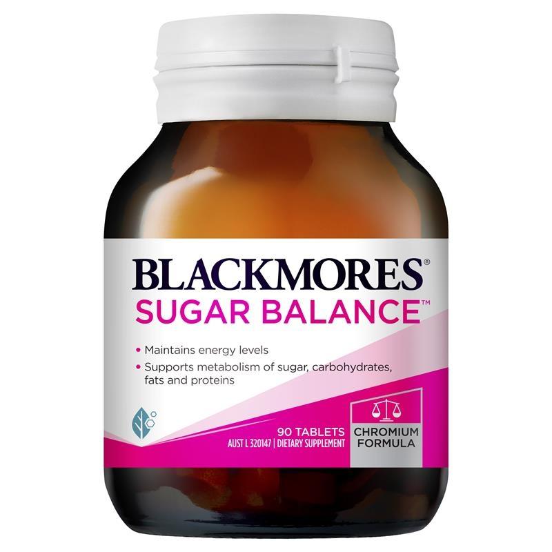 Viên uống hỗ trợ cân bằng đường huyết - Blackmores Sugar Balance 90 Tablets