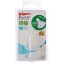 Núm vú siêu mềm - Pigeon Flexible Peristaltic Nipple Y 2 Pack