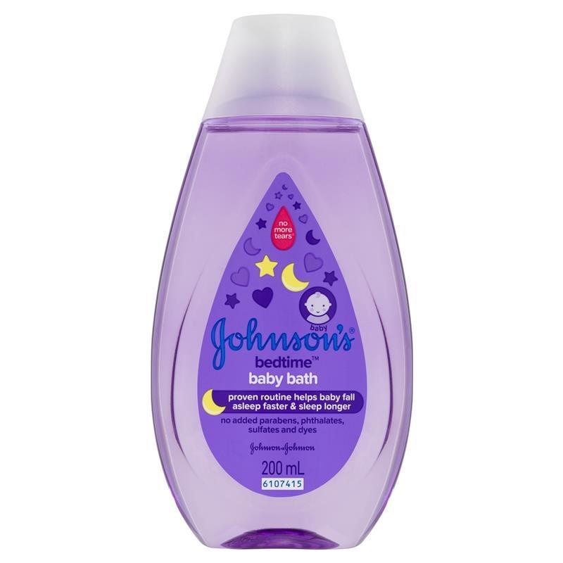Sữa tắm Johnson's Baby Bath Bedtime Hypoallergenic 200mL