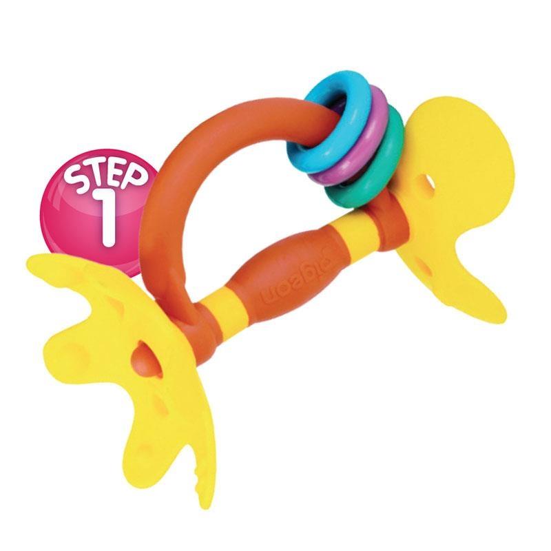 Đồ chơi khuyến khích bé tập nhai Pigeon Training Teether Step 1