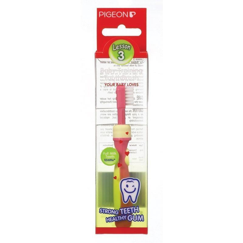 Bàn chải đánh răng - Pigeon Training Toothbrush Step 3