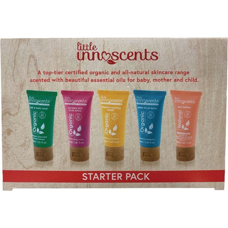 Bộ 5 tuyb dưỡng da cho bé - Little Innoscents 5 Starter Pack 30ml