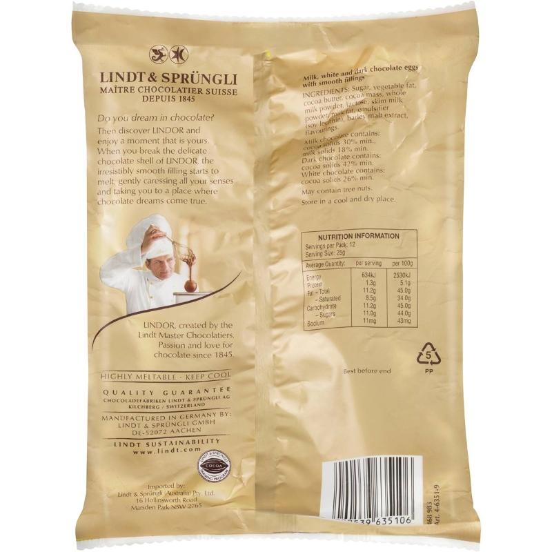 Kẹo Socola - Lindt Lindor Mini Eggs Assorted 300g bag