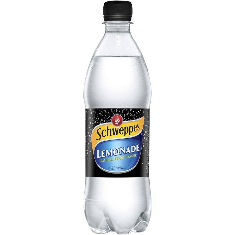Nước chanh Schweppes Lemonade Bottle 600ml