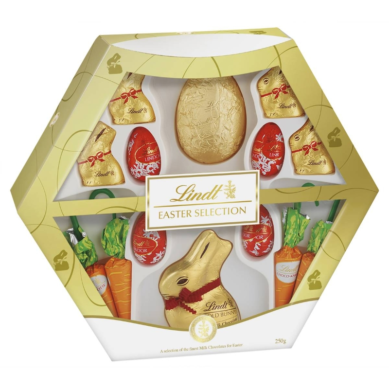 Lindt Easter Selection Milk Chocolate Gift Box 250g