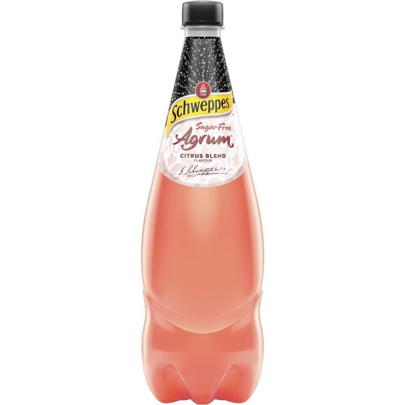 Nước trái cây không đường - Schweppes Agrum Citrus Blend Zero Sugar Agrum Citrus 1.1l