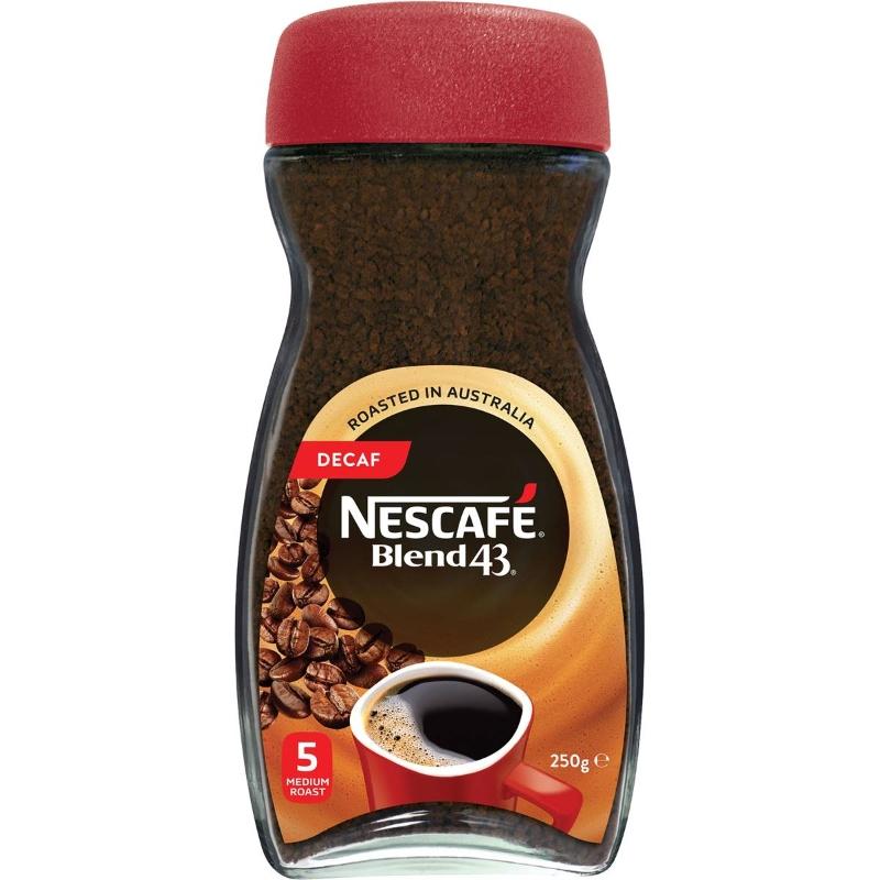 Nescafe Blend 43 Cà phê hòa tan không chứa caffein 250g