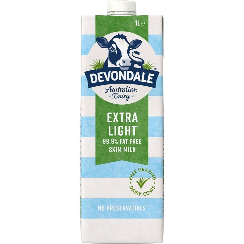 Sữa Devondale Skim Long Life 1l