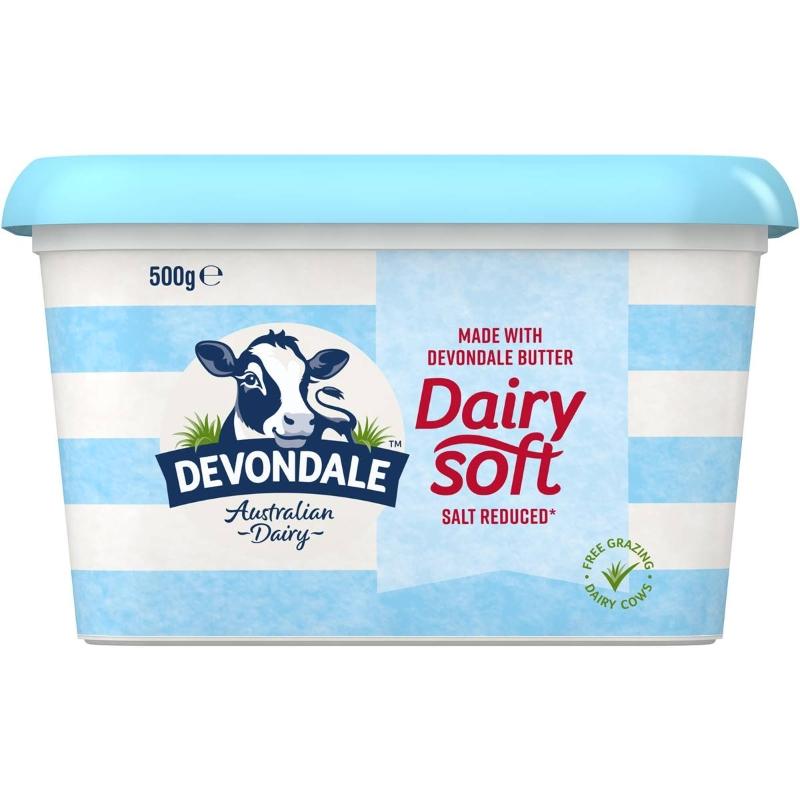 Bơ ít muối - Devondale Dairy Soft Salt Reduced Butter Blend 500g