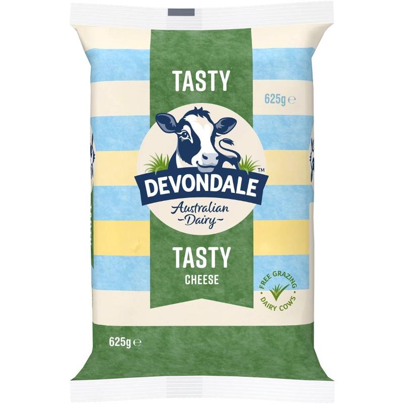 Phô mai khối -  Devondale Tasty Cheese Block 625g