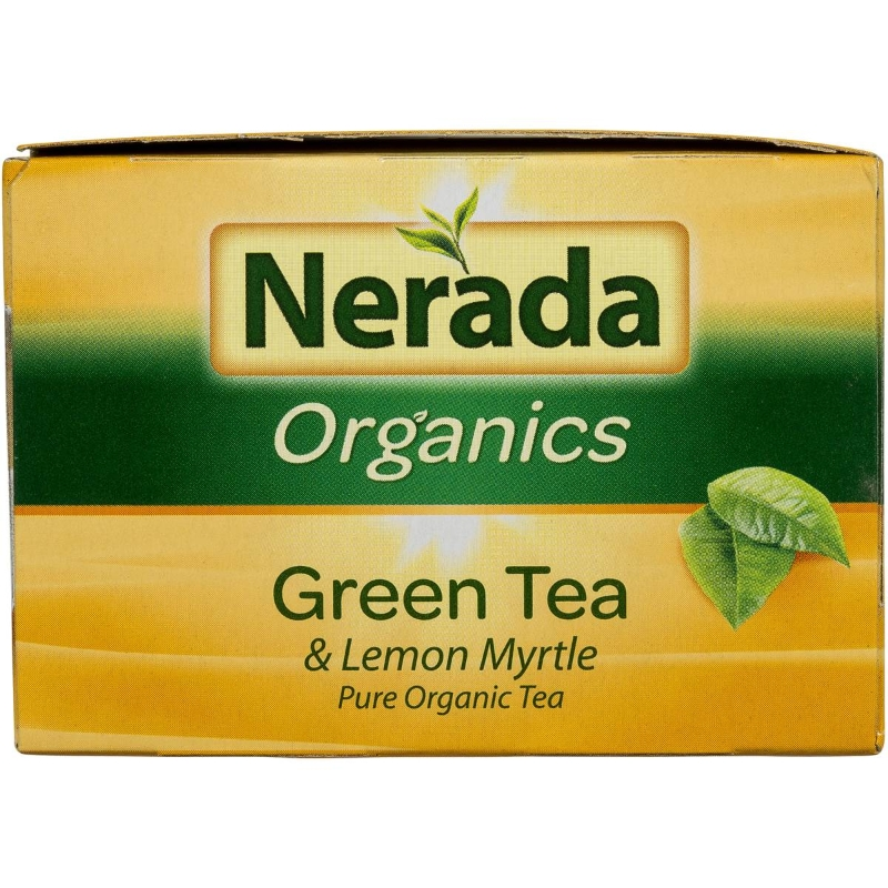 Nerada Organic Green Lemon Myrtle Tea Bags 50 gói