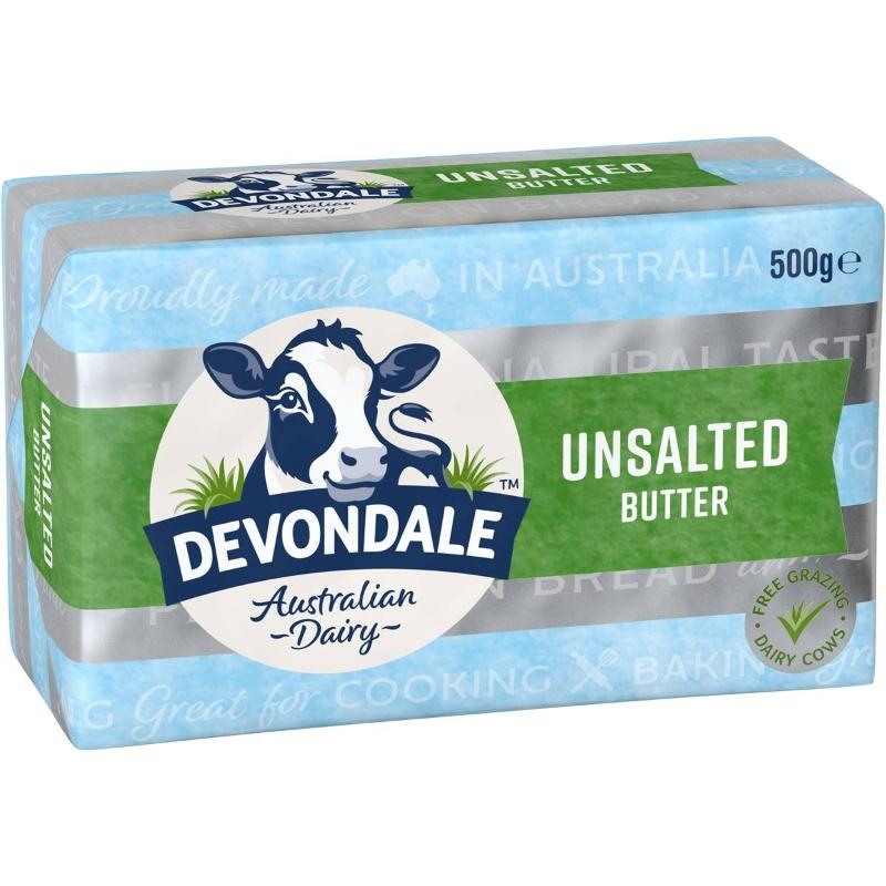 Bơ không muối Devondale 500g