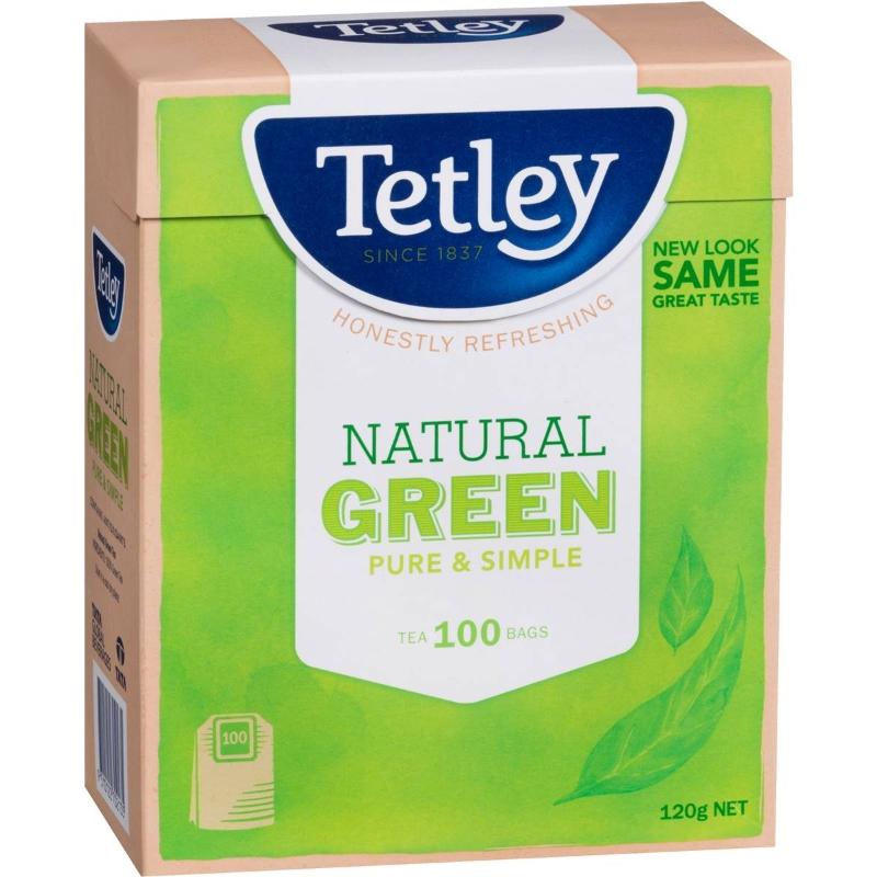 Túi trà xanh Tetley 100 gói