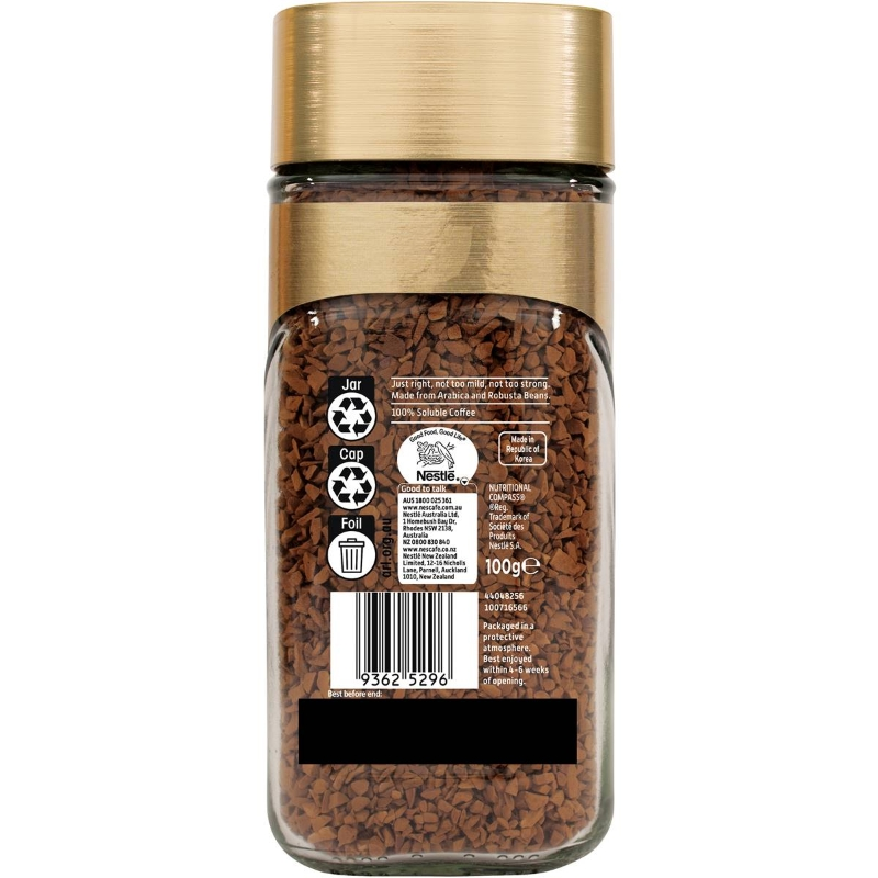 Cà phê hòa tan Nescafe Gold Orginal 100g