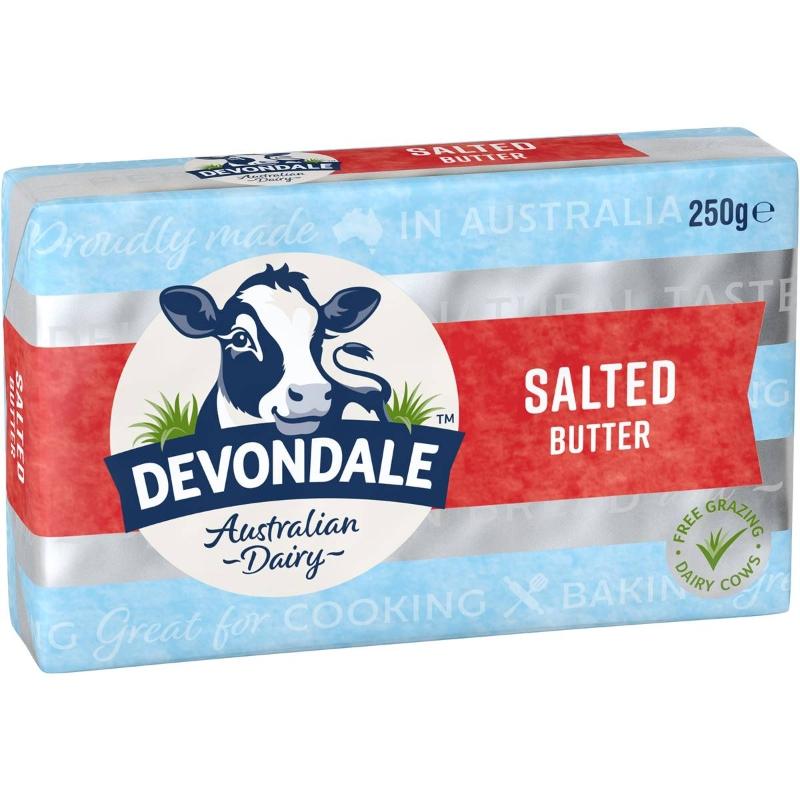 Bơ mặn Devondale 250g