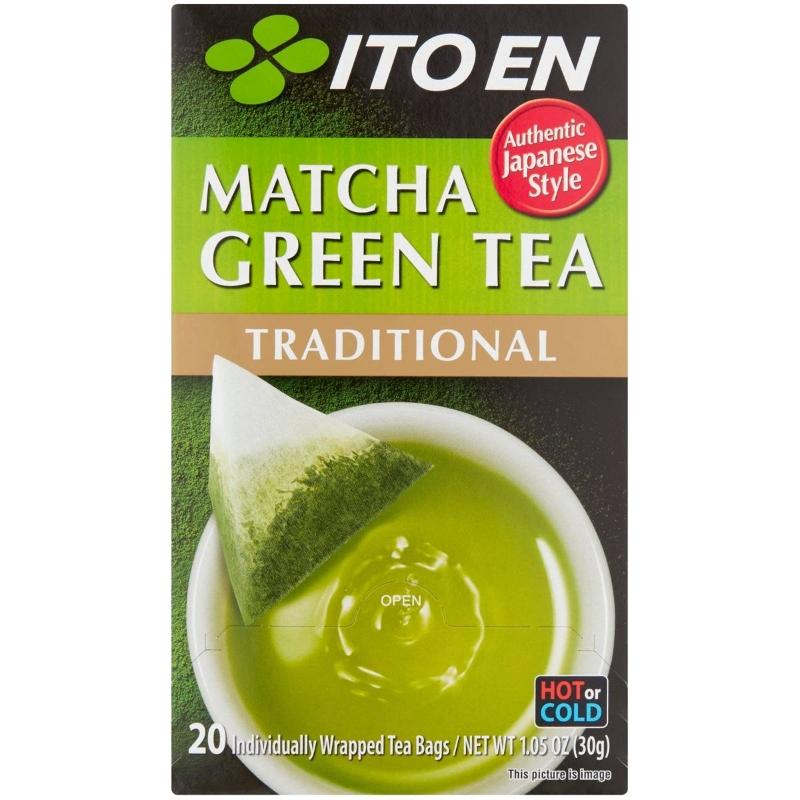Trà xanh Ito En Matcha Truyền thống 20 gói