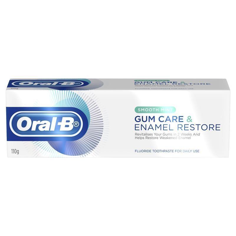 Kem đánh răng Oral B Gum Care & Enamel Restore Toothpaste 110g