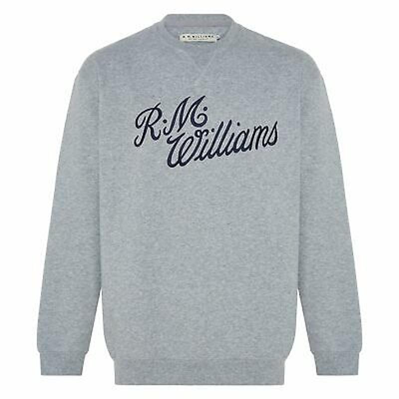 RM Williams Script Crew Neck - RRP 99.99 - FREE POST