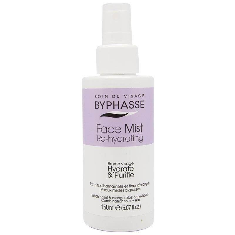 Xịt khoáng Byphasse Re-Hydrating Facial Mist dành cho Da dầu 150ml