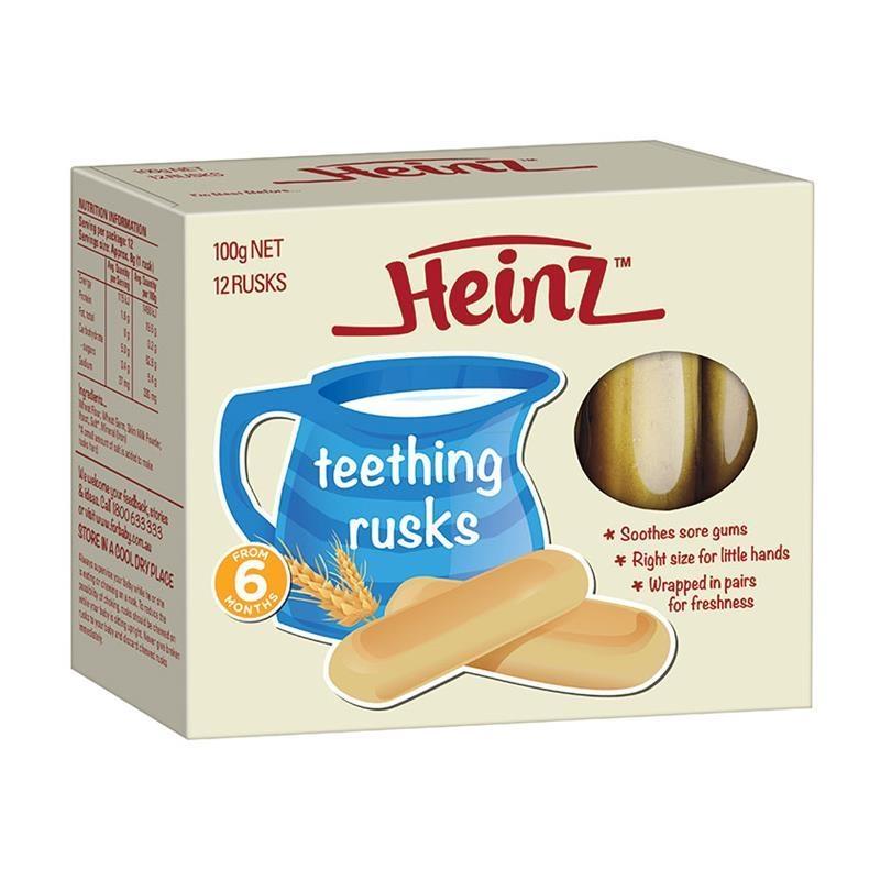Váng sữa -Heinz Teething Rusks 100g