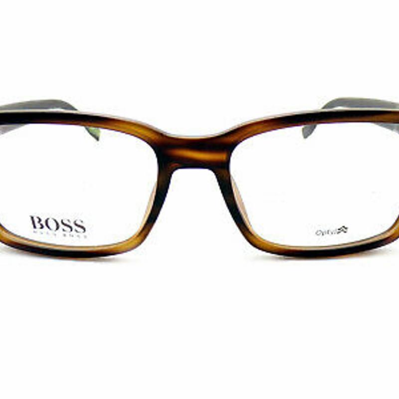 Kính đọc sách - HUGO BOSS +0.25 to +3.50 Reading Glasses 55mm Matte Brown Horn 0831 2Q7