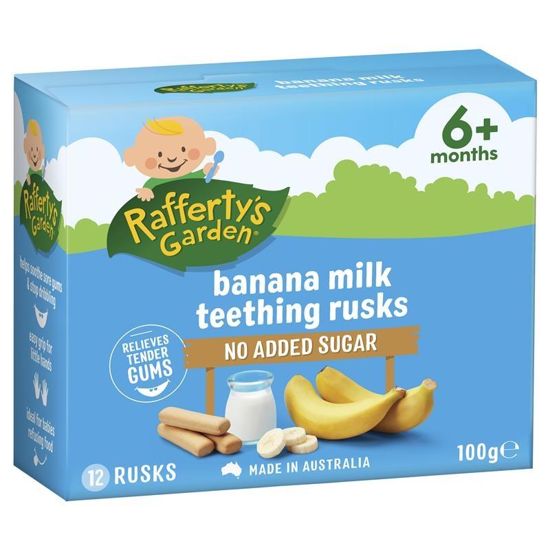 Sữa chuối - Raffertys Garden Banana Milk Rusk 100g