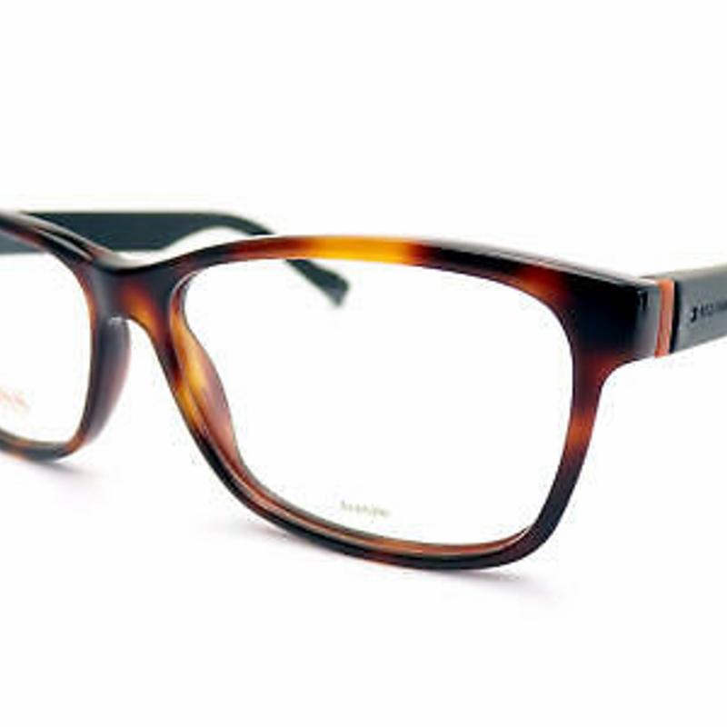 Kính cận HUGO BOSS ORANGE Reading Glasses +0.25 to +3.50 Havana Matte Black BO 0181 K2P
