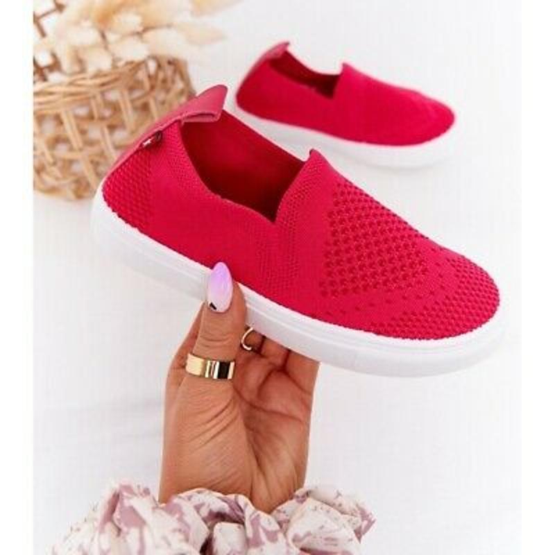 Slip-on dành cho trẻ em HH374102 màu hồng Fuchsia