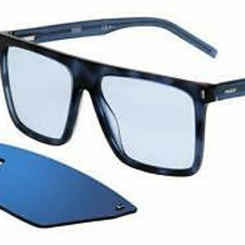 Kính cận Goggle - Eye With Clip Hugo 1112/Cs Ipr (XT) Havana Blue/Mirror Blue