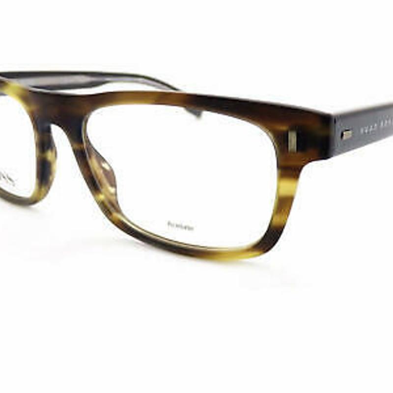 Kính cận - HUGO BOSS +0.25 to +3.50 Reading Glasses 50mm Matte Brown Horn/ Walnut 0928 BU0