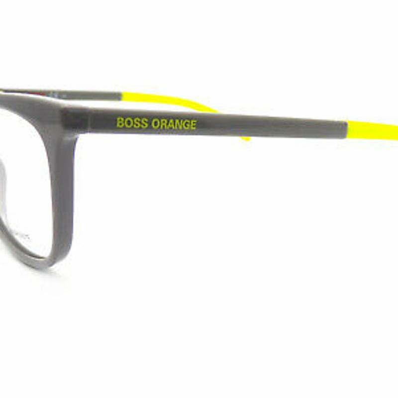 Kính cận HUGO BOSS ORANGE Reading Glasses +0.25 to +3.50 Shiny Grey/ Green BO 0289 KB7